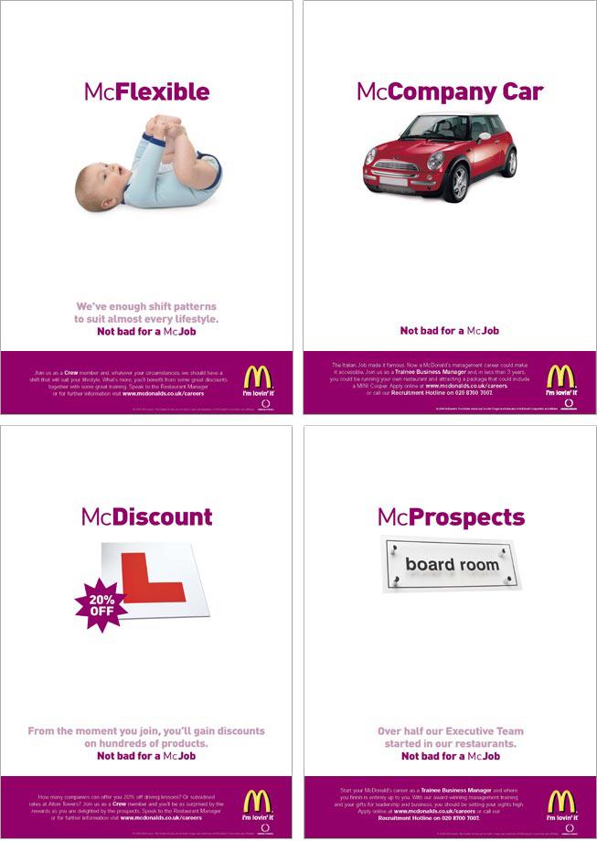 McDonald's ad campaign