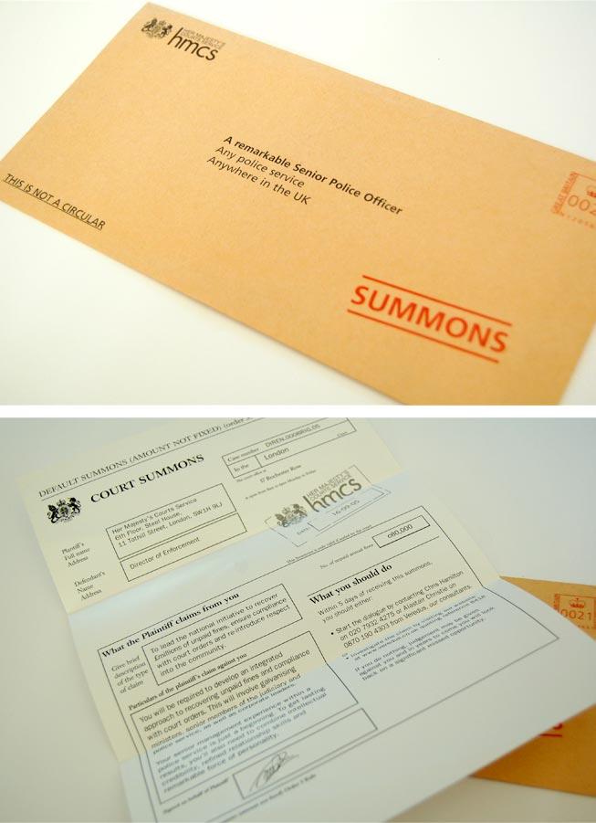 HMCS - Mailer